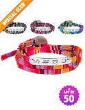 Lot de 50 bracelets Liberty GYM