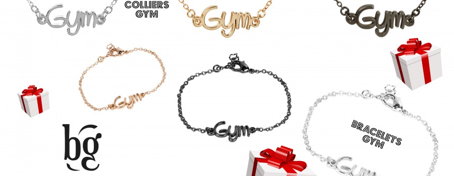 L'indémodable Bracelet GYM trouve enfin son collier GYM !
